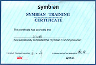 Certificate-symbain